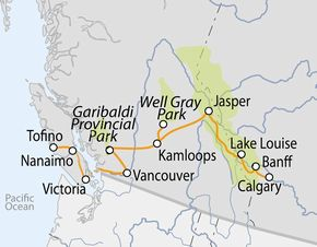 Canada occidentale dalle montagne rocciose al pacifico for Ranch occidentale